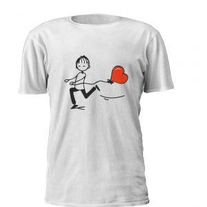 Balloon Heart Boy