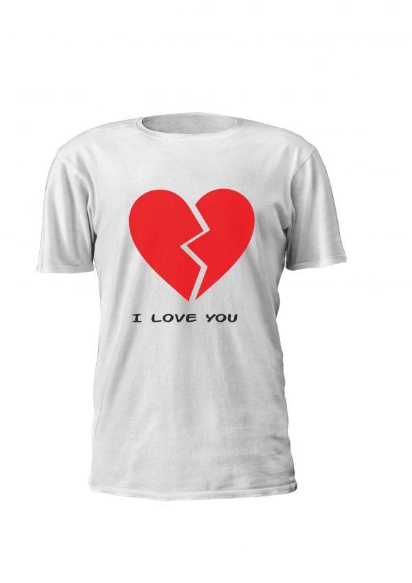 Broken Heart - Estampagem personalizada, t-shirt, Sweatshirt, Sweatshirt com capuz