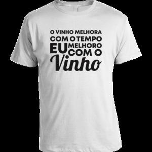 Eu melhoro com o vinho