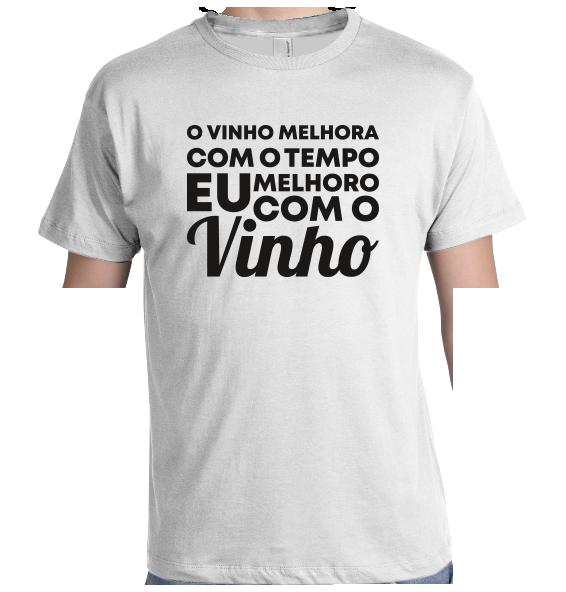 Melhoro com o vinho