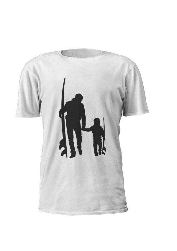 Surfer Family- Estampagem personalizada, t-shirt, Sweatshirt, Sweatshirt com capuz