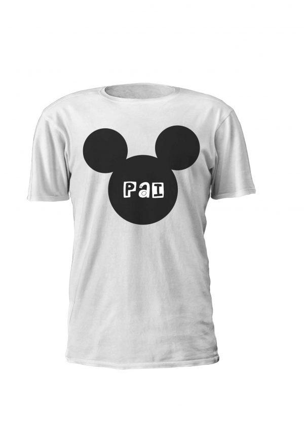 Mickey Pai - Estampagem personalizada, t-shirt, Sweatshirt, Sweatshirt com capuz