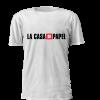 T-shirt Estampada personalizada Casa de Papel Logo