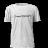 T-shirt Personalizada estampada com logo Game of Thrones