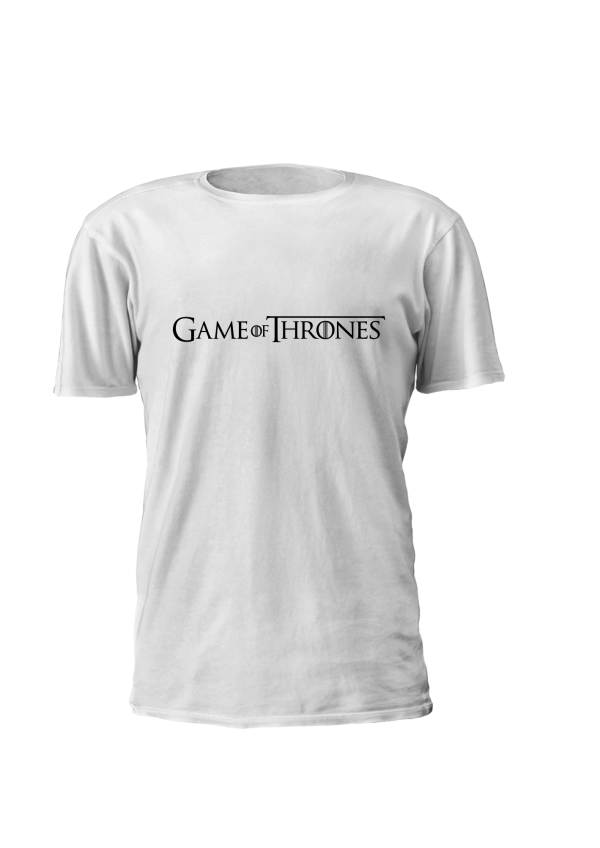 T-shirt Personalizada estampada com logo Game of Thrones