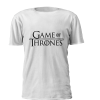 T-shirt estampada personalizada com logo game of thrones