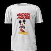 T-shirt personalizada para criança Inspirada no Mickey Mouse