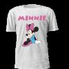 T-shirt personalizada Design Disney Minnie. Para criança