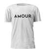 T-shirt de Mulher Personalizada Amour