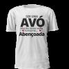 T-shirt Ser Avó Torna-me Abençoada. T-shirt personalizada para todas as avós babadas! Disponível em branco, cinza ou preto. Sweatshirt com e sem capuz e t-shirt.