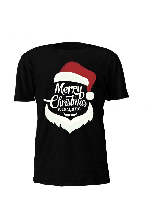 T-shirt de Natal Merry Christmas everyone Personalizada só para ti! Também disponível em sweatshirt com e sem capuz
