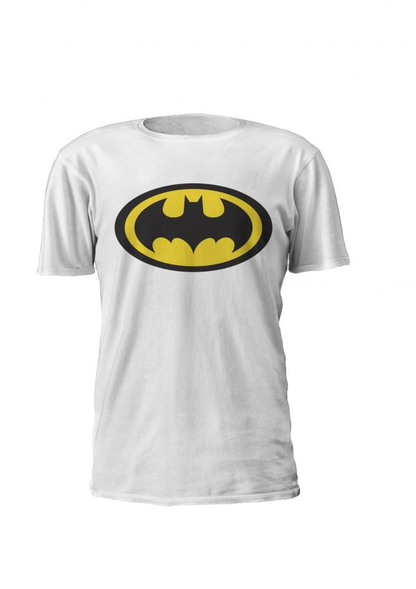 T-shirt e sweatshirt de criança com desenho DC comics, Logo Batman! Disponivel 2 aos 12 anos