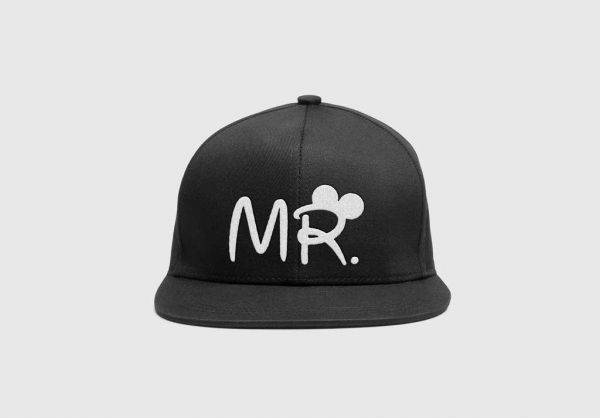 SnapBack Personalizado Mr, modelo complementar para ela, MRs, disponivel em preto, vermelho azul e cinza
