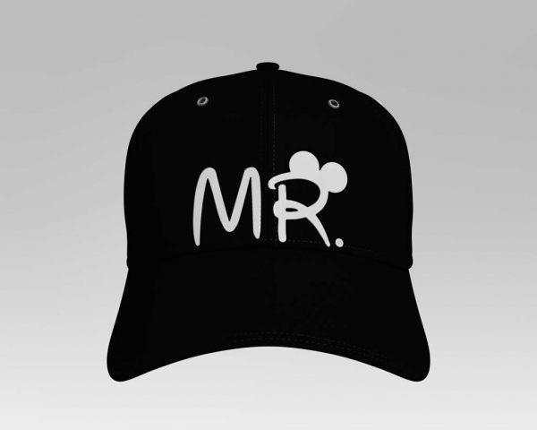 Mr baseball cap, boné de pala formatada personalizado