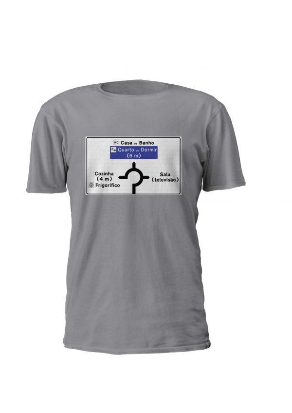Tshirt Orientações geográficas at home, orientadora de casa covid19