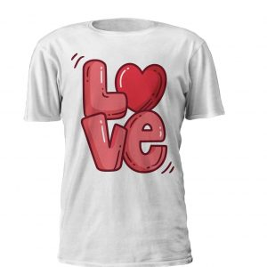 love in a tshirt