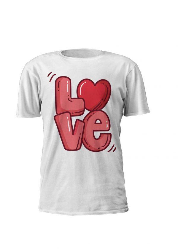 love in a tshirt